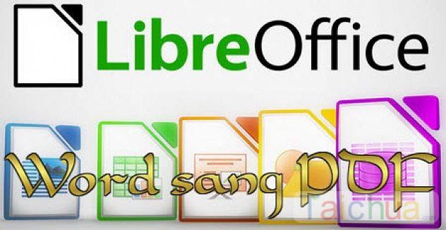 Hướng dẫn lưu file Word sang PDF trong LibreOffice