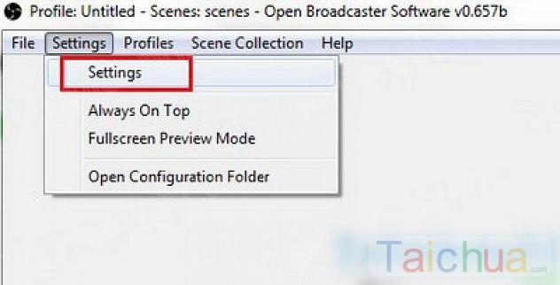 Open Broadcaster – Hướng dẫn cách quay video màn hình