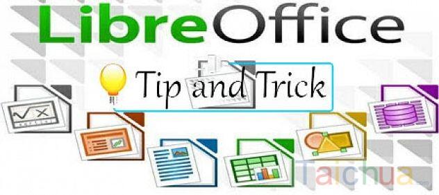 Hướng dẫn cách tạo dòng chấm (....) trong LibreOffice