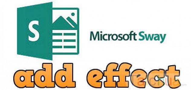 Hướng dẫn cách chèn và thêm hiệu ứng vào slide Microsoft Sway