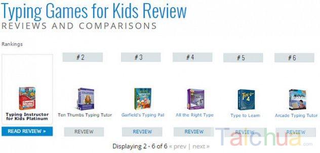 Tham khảo 6 game luyện đánh máy cho trẻ em được đánh giá cao