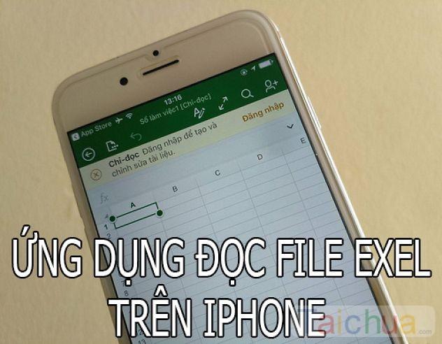 Những ứng dụng đọc file Excel trên iPhone tốt nhất