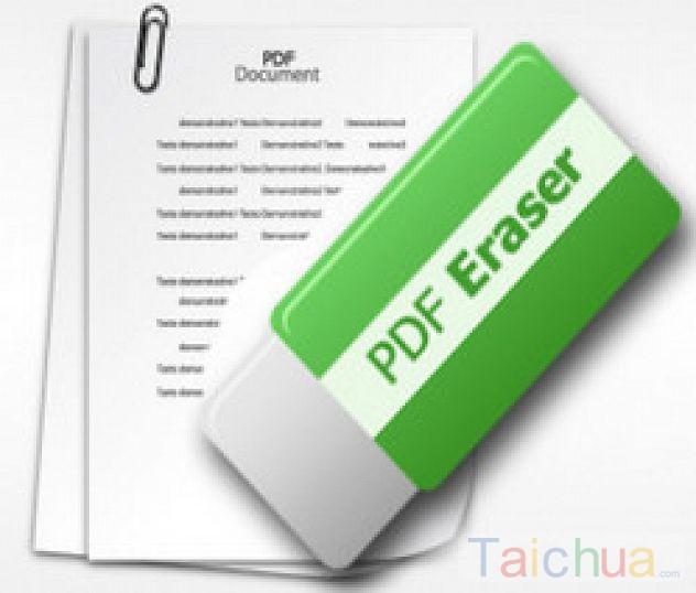 Hướng dẫn xóa hình ảnh hay văn bản trong PDF bằng PDF Eraser
