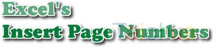 Hướng dẫn đánh số trang trong Excel 2010