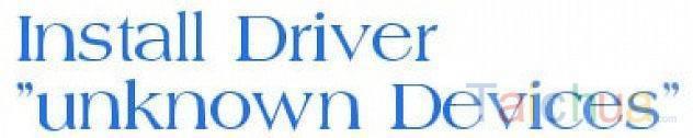 Cài đặt Driver dạng