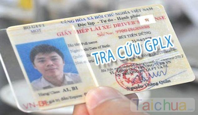 Hướng dẫn tra cứu thông tin giấy phép lái xe trực tuyến