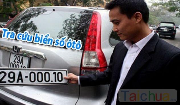 Hướng dẫn tra cứu biển số xe ô tô