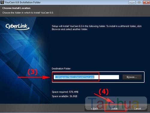 Hướng dẫn cài đặt CyberLink YouCam