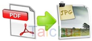 Cách chuyển PDF sang JPG không cần phần mềm
