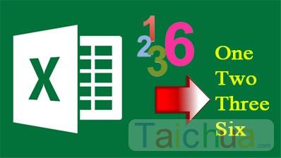 Cách đổi số thành chữ trong Excel với VnTools