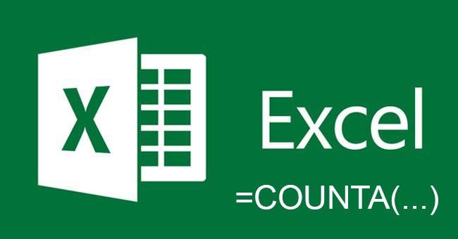Hàm COUNTA – đếm ô chứa dữ liệu trong Excel