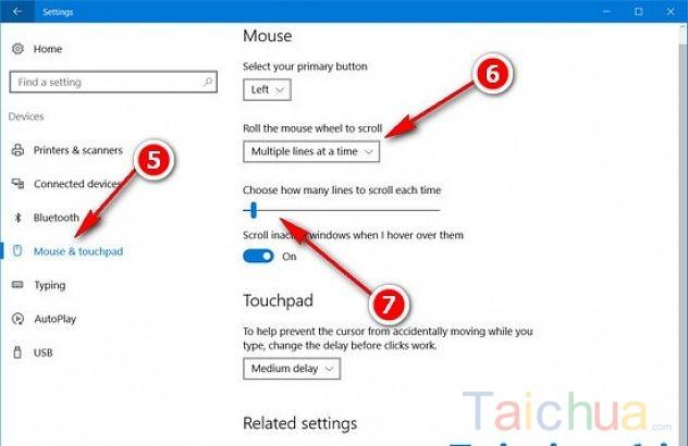 Cách thay đổi số dòng cuộn chuột trên Windows 7, 8, 8.1, 10 dễ dàng
