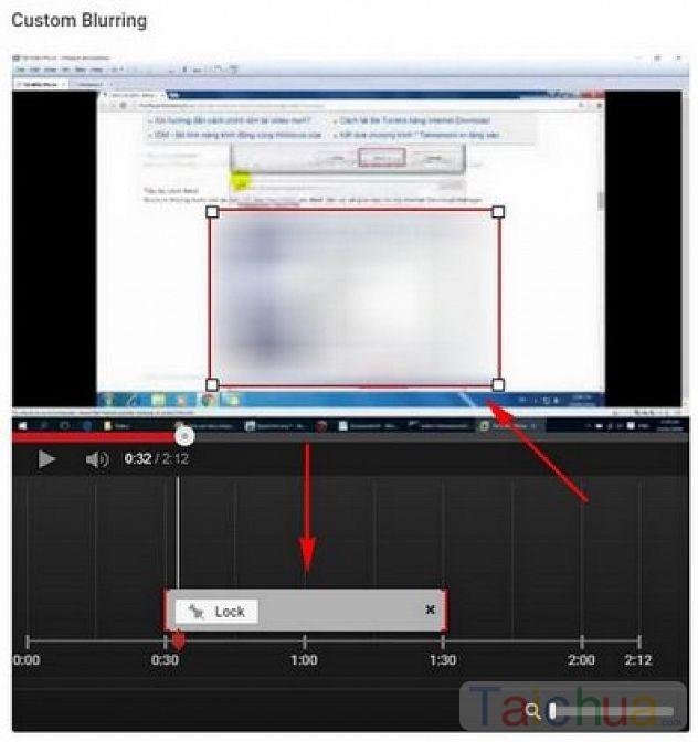 Hướng dẫn làm mờ đối tượng trong Video trên YouTube