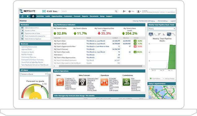 Giới thiệu chung về phần mềm quản lý quan hệ khách hàng NetSuite