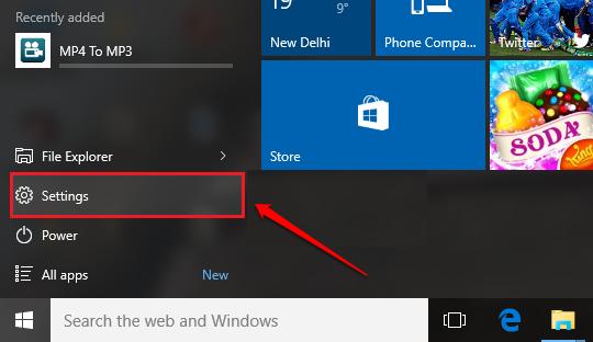 Cách sửa lỗi không vào được Settings trên Windows 10