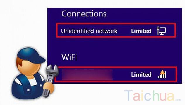 Sửa lỗi unidentified network không vào Wifi trên laptop