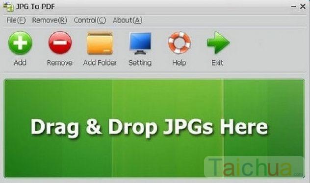 Cách giúp bạn tạo file PDF từ file ảnh JPG