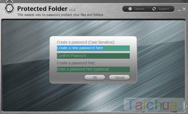 Hướng dẫn tạo mật khẩu cho Folder bằng Protected Folder