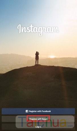 Hướng dẫn tạo tài khoản Instagram trên máy tính