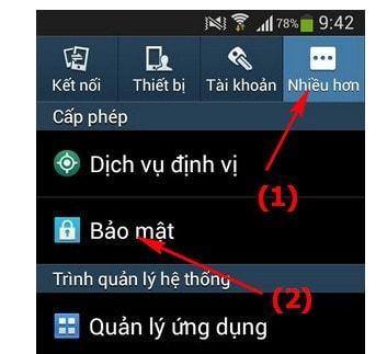 Cách tìm lại điện thoại samsung bị mất vời Find My Mobile