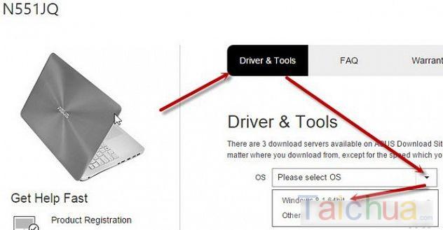 Tìm và tải Driver Asus chuẩn và nhanh nhất