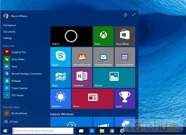 10 cách tùy biến Start menu trên windows 10