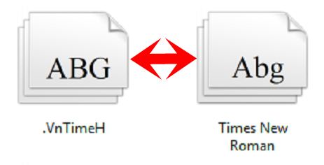 Chuyển VnTime sang Time New Roman trong Word và Excel