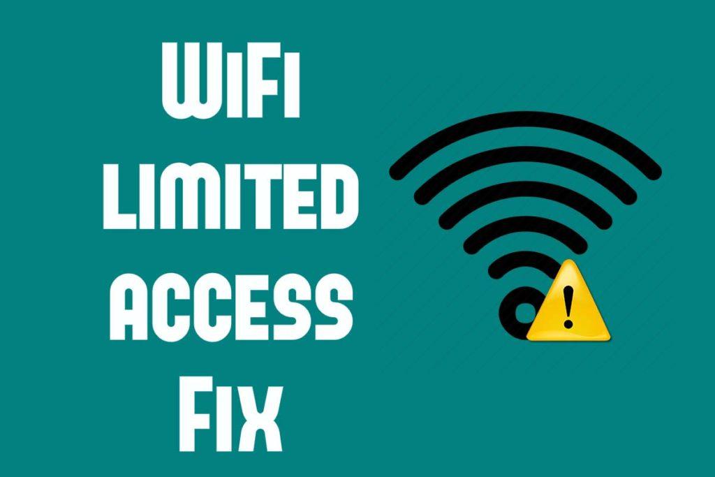 Sửa lỗi Wifi bị Limited hay bị giới hạn kết nối