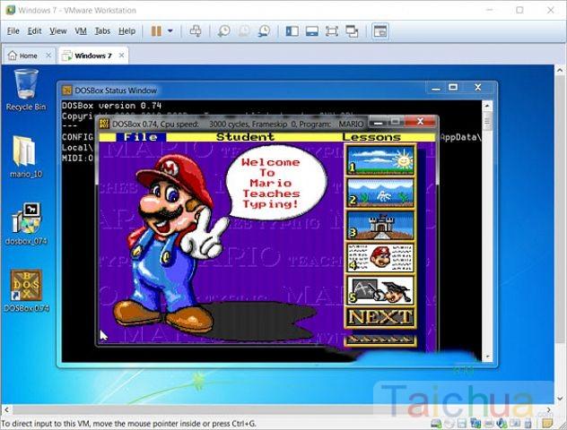 Cách sử dụng phần mềm Mario trên Windows 10