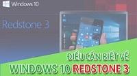 Windows 10 Redstone 3 – Phiên bản mới với nhiều tính năng ưu việt