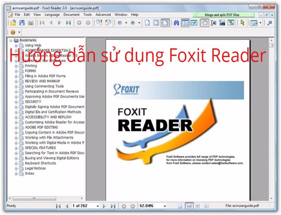 Hướng dẫn sử dụng Foxit Reader cực đơn giản