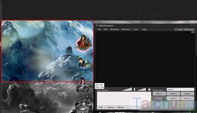 Hướng dẫn cách phát video trực tiếp trên TalkTV bằng Xsplit