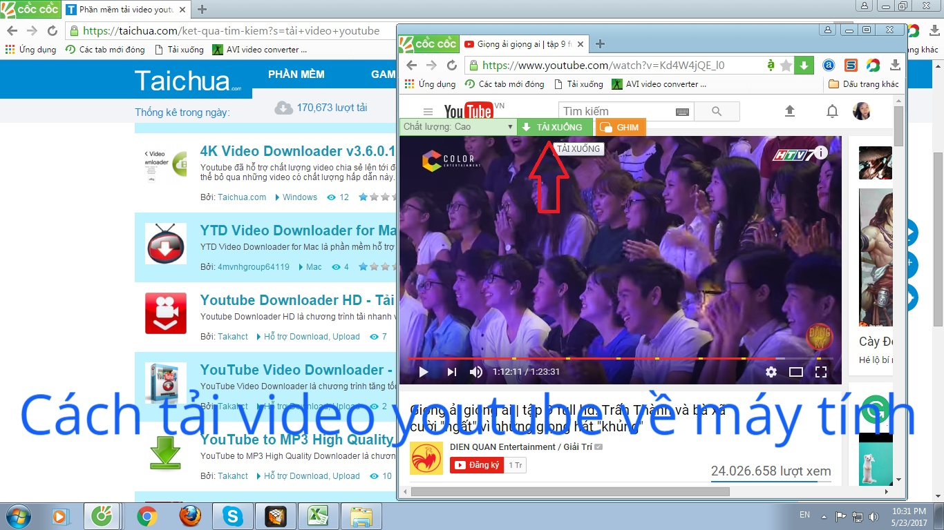 Tổng hợp 9 cách tải video từ youtube về máy tính nhanh nhất