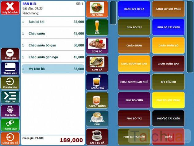 Top phần mềm quản lý quán cafe tốt tiếng Việt dễ dùng