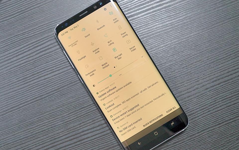 Hướng dẫn cách kích hoạt tính năng Night Mode trên Galaxy S8