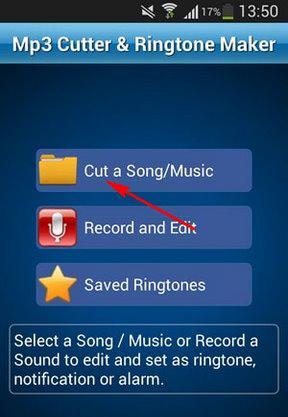Cắt nhạc chuông trên Android đơn giản