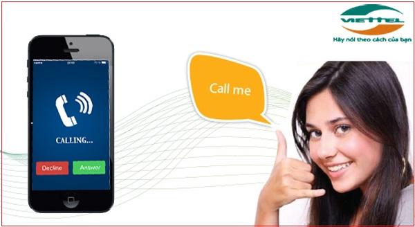 Call back me (yêu cầu gọi lại )- dịch vụ nhắn tin miễn phí của viettel